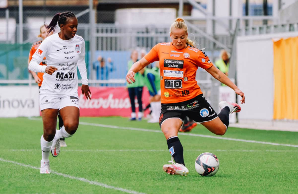Therese i kamp for Kristianstads